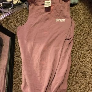 Pink vs body suit size small!